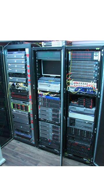 Server room at ThankQ